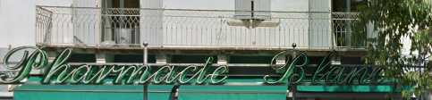 Pharmacie Blanc
